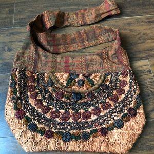 Cute unique cloth crossover bag